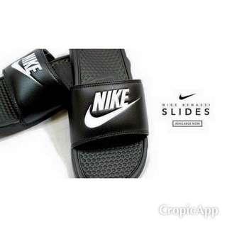 Nike swoosh benassi 托鞋