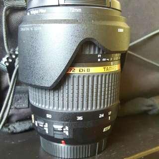 Tamron 17-50mm F2.8 Lens (Canon Mount)
