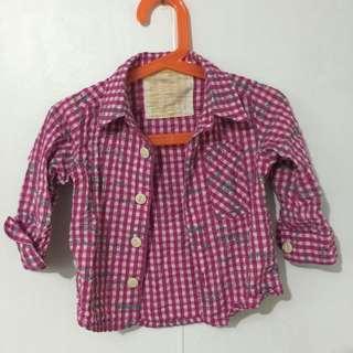 🌟可愛女童裝🌟美國風女寶寶襯衫