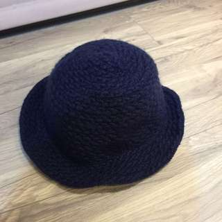 深藍色毛帽💙💙💙