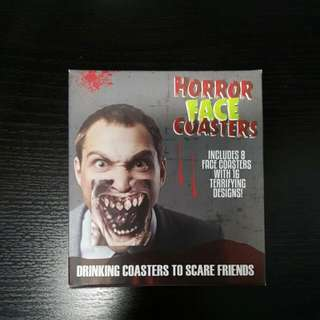 Horror Face Coasters