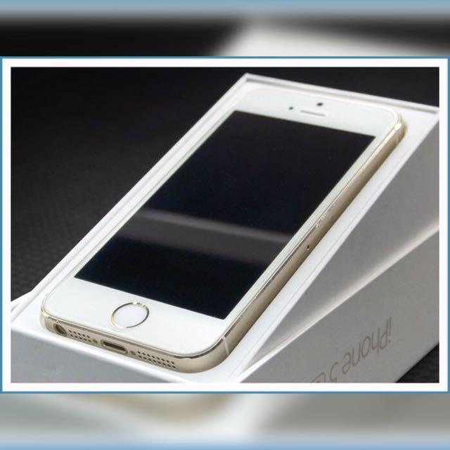 降價~2手👋Apple iPhone 5s 32G 白 附玻璃保護貼