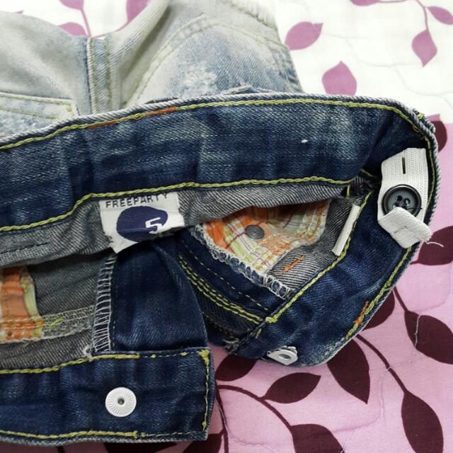 韓貨-短褲(5)可調鬆緊