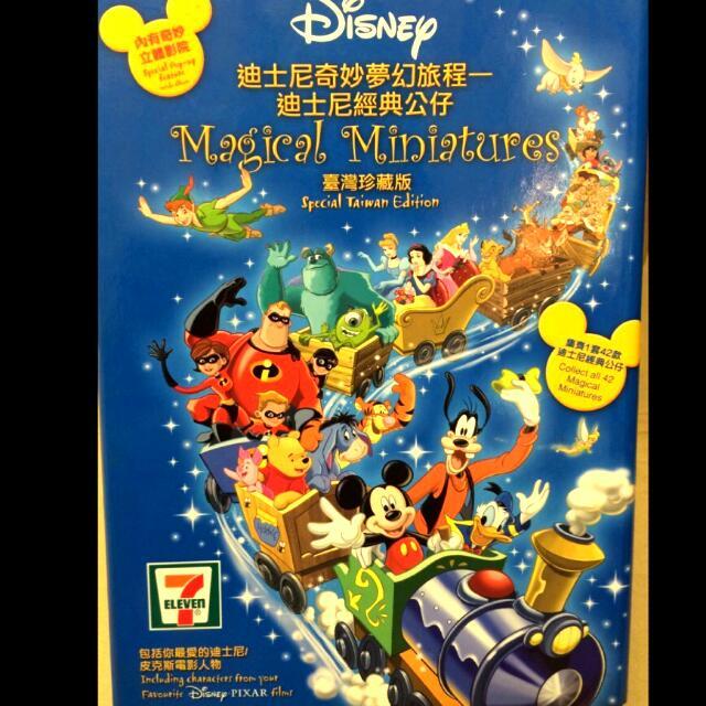 全新7-11 迪士尼 奇妙夢幻旅程 經典公仔 臺灣珍藏版 42款 連同外盒