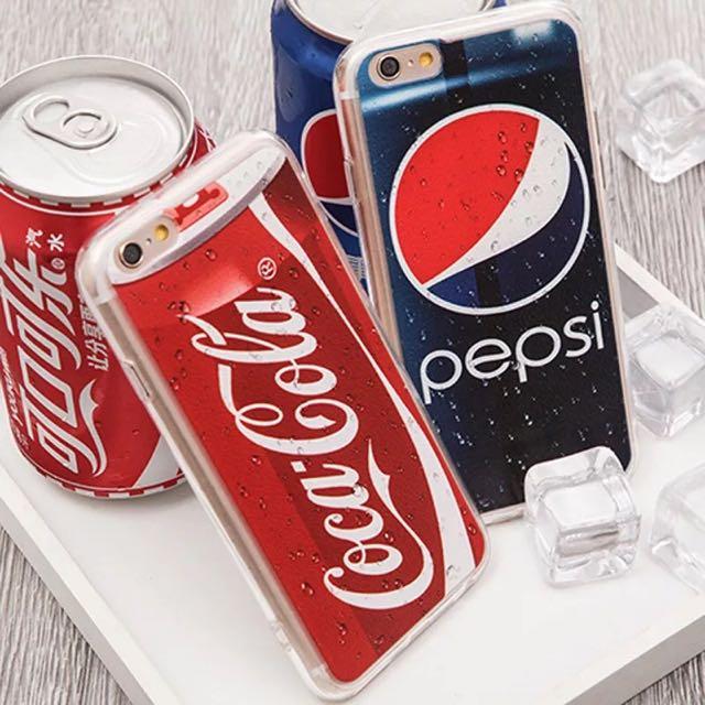預購|可樂軟邊手機殼