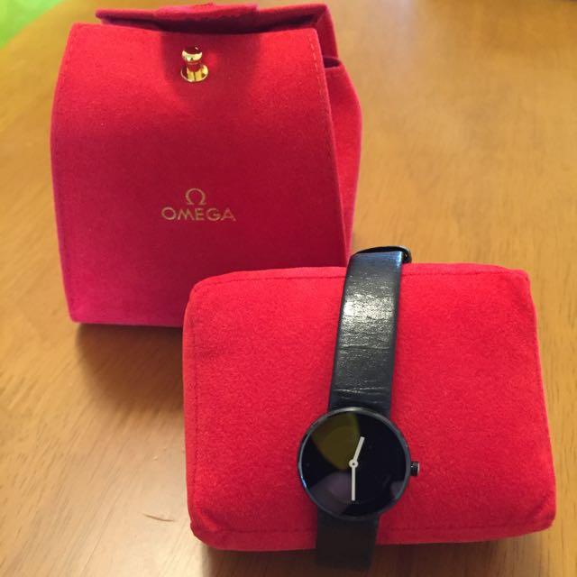 歐米茄皮帶錶(正品)