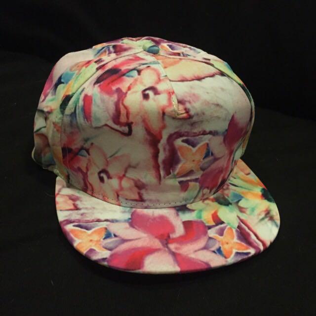 全新渲染花花帽 棒球帽