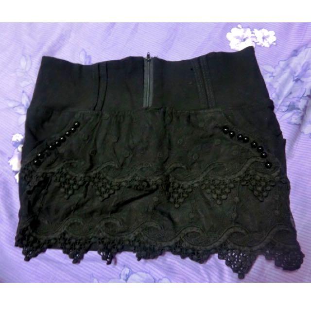 🎀全新 黑色褲裙(含運)