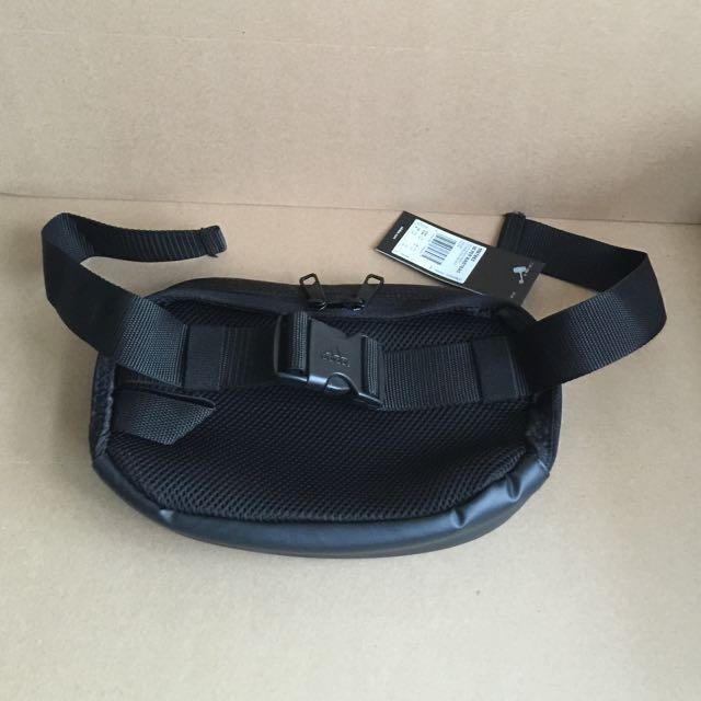 e46233689a BNIB Adidas M67853 3S PER Waist Pouch Bag Black  sunwalker