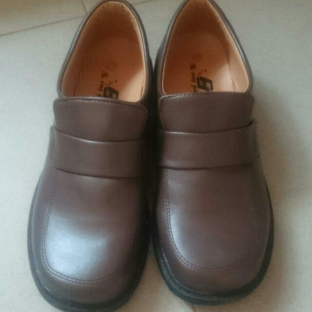 b801c76680 Brown Japanese School Shoes