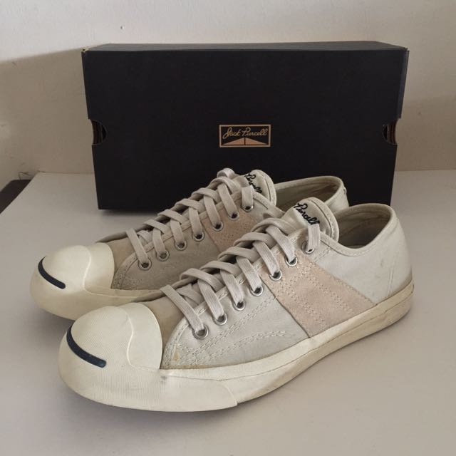official photos f8200 462f8 Converse Japan Jack Purcell US9, Men s Fashion on Carousell