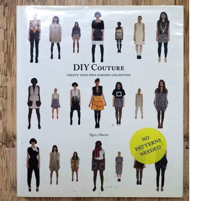 DIY COUTURE NO PATTERNS NEEDED - Create your own fashion collection