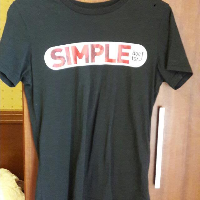 Doctor J 黑色T恤