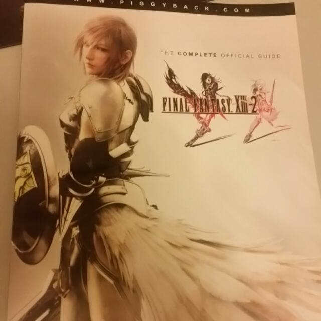 Final Fantasy XIII-2 The Complete Officual Guide