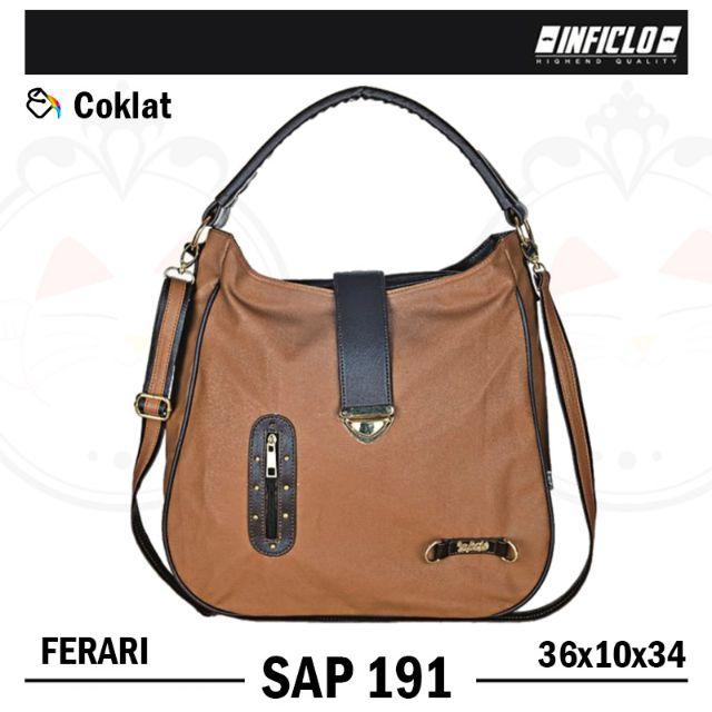 Inficlo SAP 191 ~ Tas Wanita | Handbag | Selempang Model Trendy, Women's Fashion on