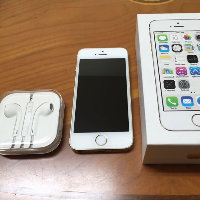 iPhone 5s 16GB (代售女用機)