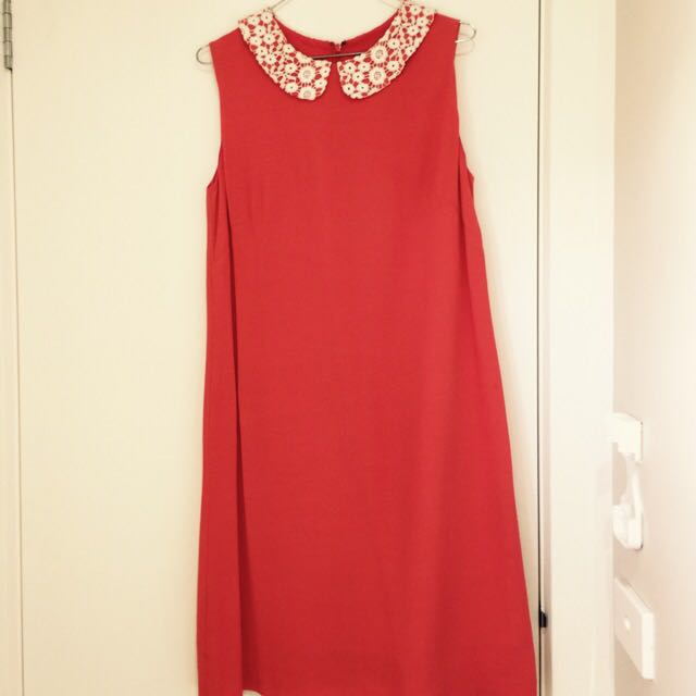Marcs Shift Dress With Detailed Collar