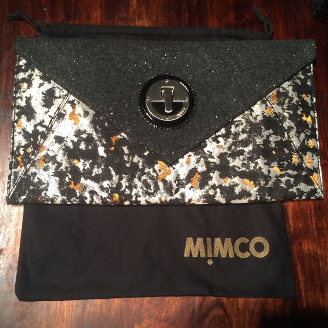 Mimco Illuminated Clutch Authentic