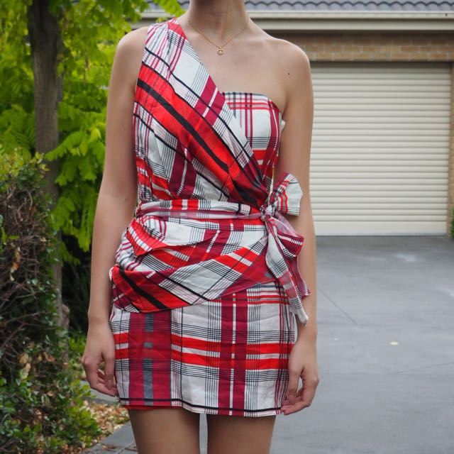 SASS & BIDE Checkered Dress