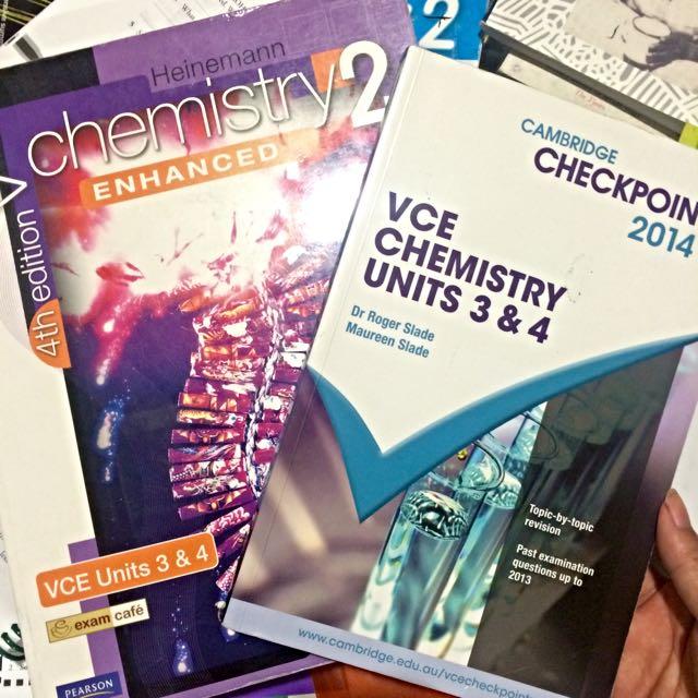 PENDING ⌛️ VCE Chemistry Units 3/4