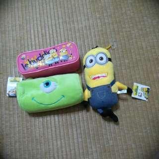 可愛的娃娃and鉛筆盒
