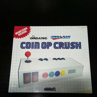 DJ ORGANIC Coin OP Crush CD