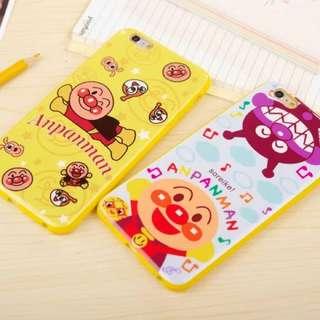 Apple I phone 6 6S plus 日本面包超人TPU 卡通手机殼