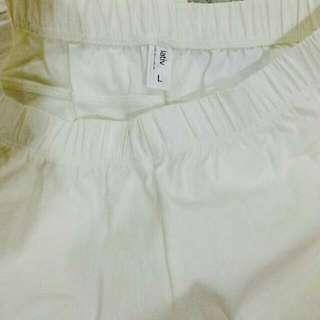 白色貼身褲