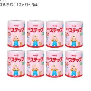 🎌讚井屋🎌免運、現貨、日本境內版明治奶粉二階、8罐優惠價5400元 、保證日本帶回