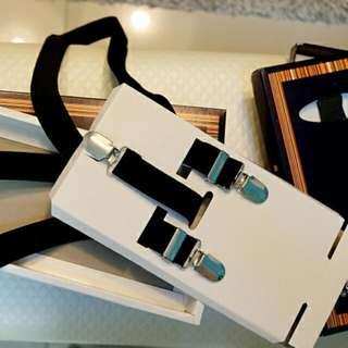 Black Suspenders for Men (5 pcs)