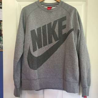 Grey Nike Jumper