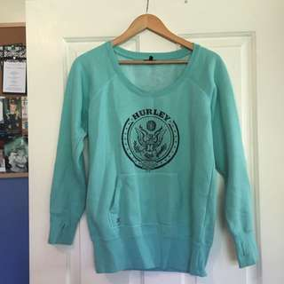 Green Hurley Jumper