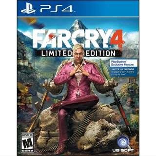 WTS/WTT Far Cry 4 PS4
