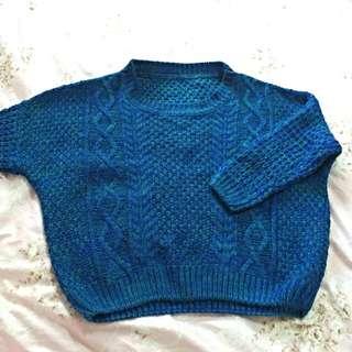 💙混色針織毛衣💛