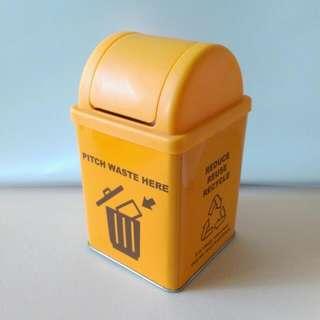 垃圾桶造型收納盒