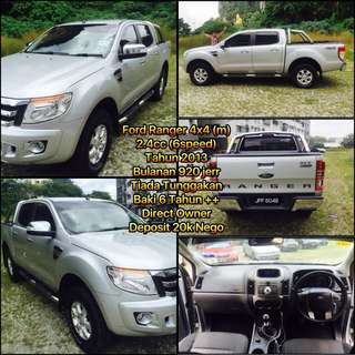 Ford Ranger 6 Speed Continue Loan 20k