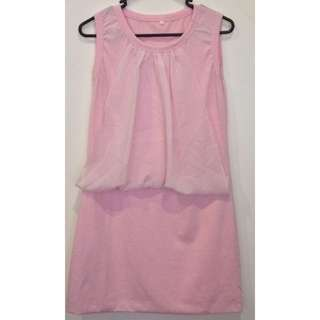 Plain Pink Dress (Near New)