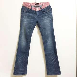 韓國品牌coo's牛仔褲