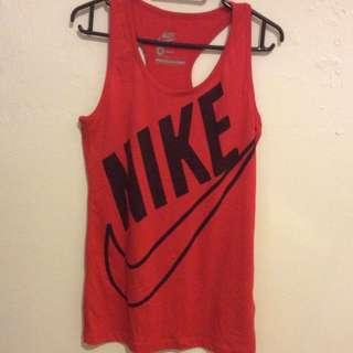 Nike Red Singlet