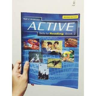 文藻 英文閱讀課本 Active 2 (Skills For reading) Book2