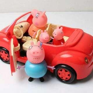 佩佩豬°野餐車組