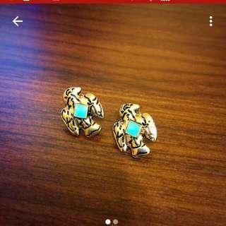 老鷹圖騰耳環