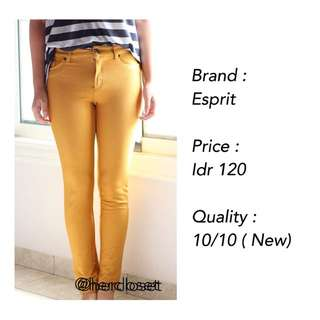 NEW! Yellow Jeans