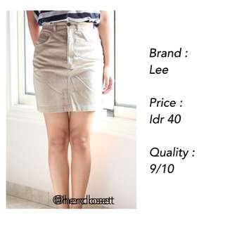 Light Brown Skirt