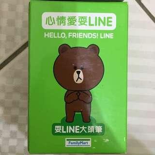 LINE 大頭筆