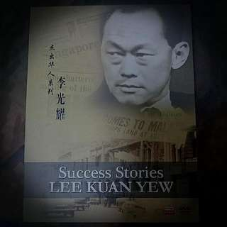 DVD Sucess Stotries LEE KUAN YEW box Edition.