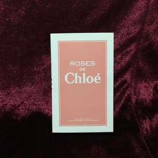 Chloe 玫瑰女性淡香水 針管 (最後一支