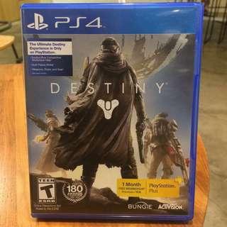 免運👍🏻 PS4 二手 天命 Destiny 遊戲片