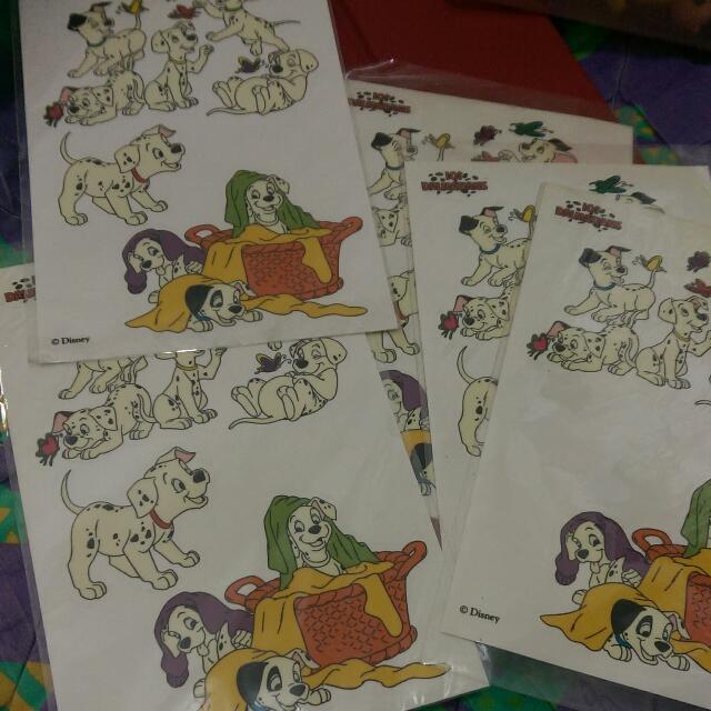 迪士尼 101忠狗 貼紙