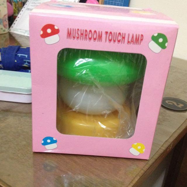 蘑菇小夜燈